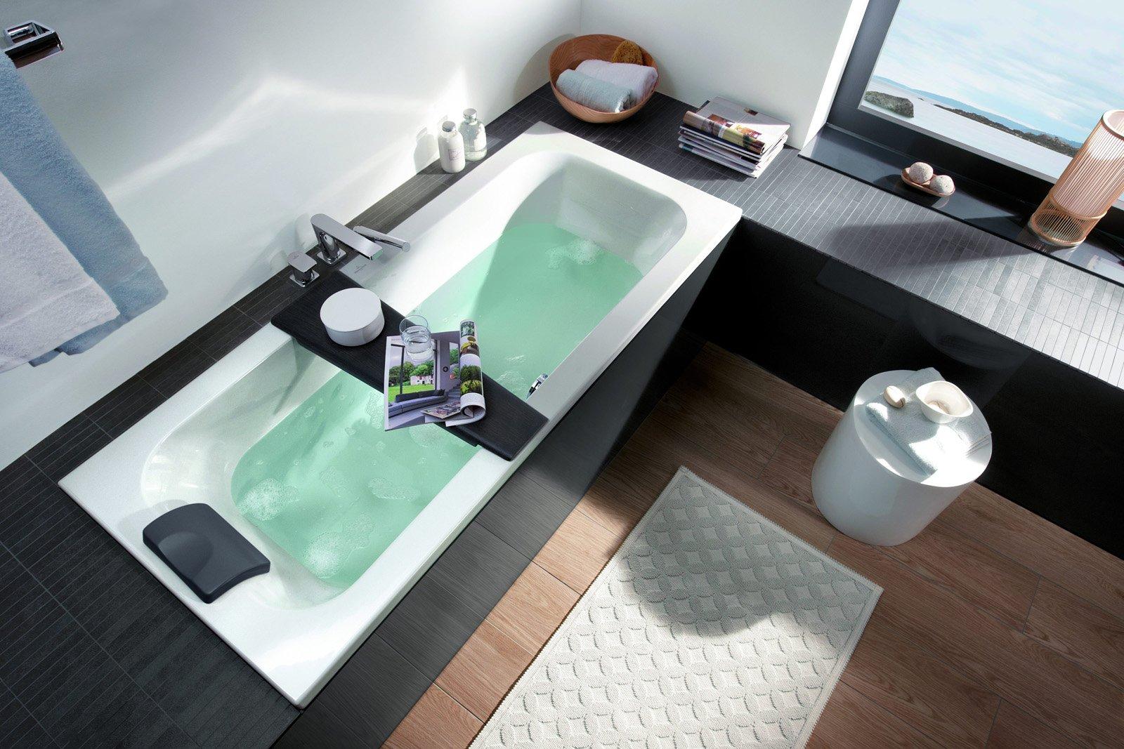 Vasche da bagno piccole cose di casa - Vasca da bagno villeroy e boch ...