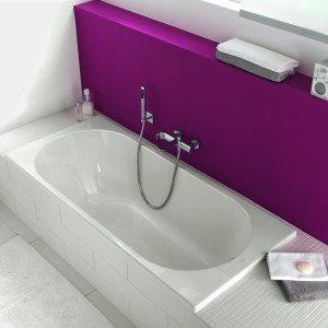 O.Novo di Villeroy & Boch è una vasca da incasso in acrilico. Misura L 160 x P 70 x H 57,5 cm. Prezzo Iva esclusa 289 euro. www.villeroy-boch.com/it