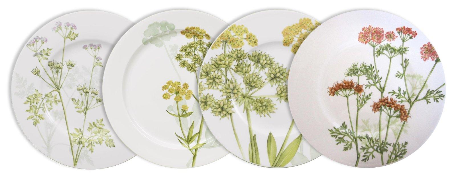 Piatti colorati o decorati per fare bella la tavola cose - Piatti di frutta decorati ...