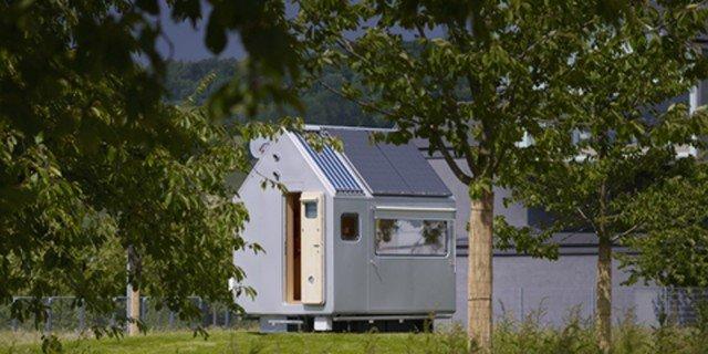 Casa minima il progetto diogene di renzo piano con for Progetti di casa sollevati