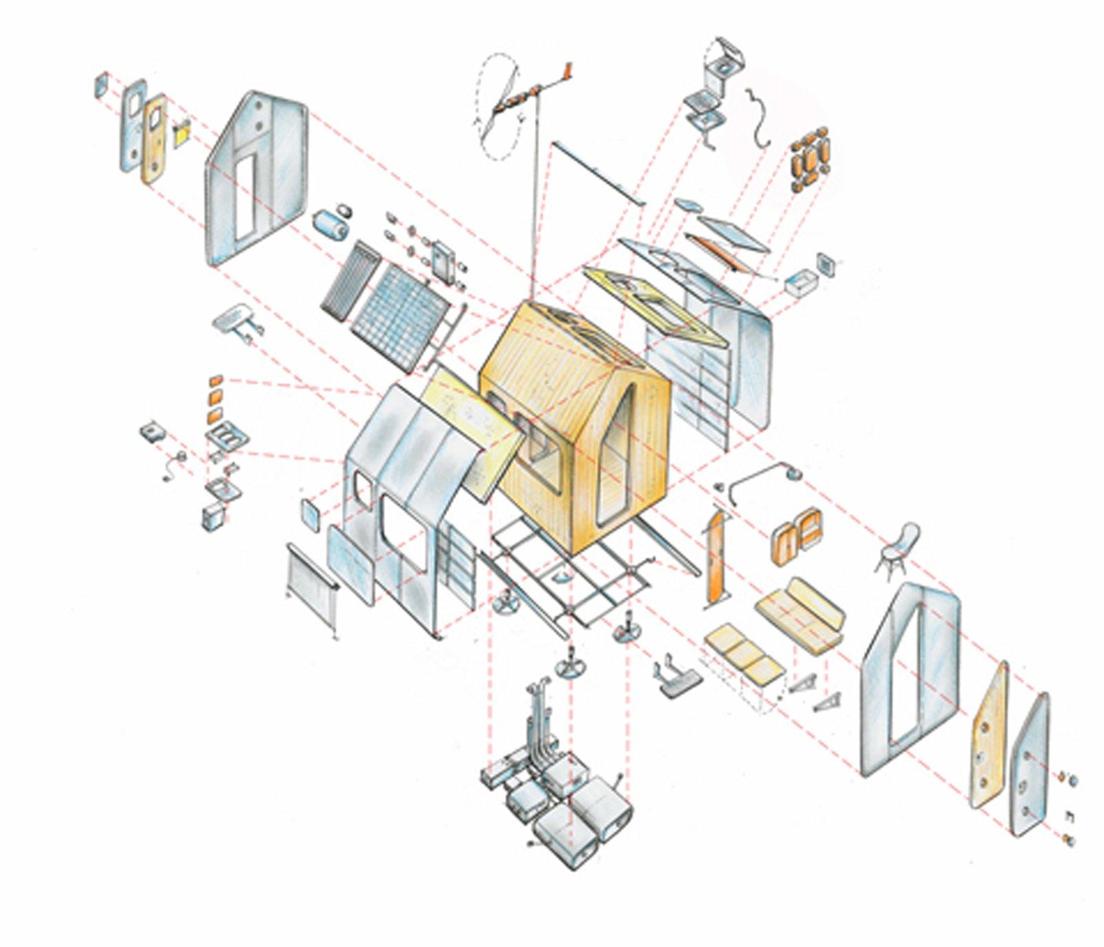 Casa minima il progetto diogene di renzo piano con for Generatore di piano casa