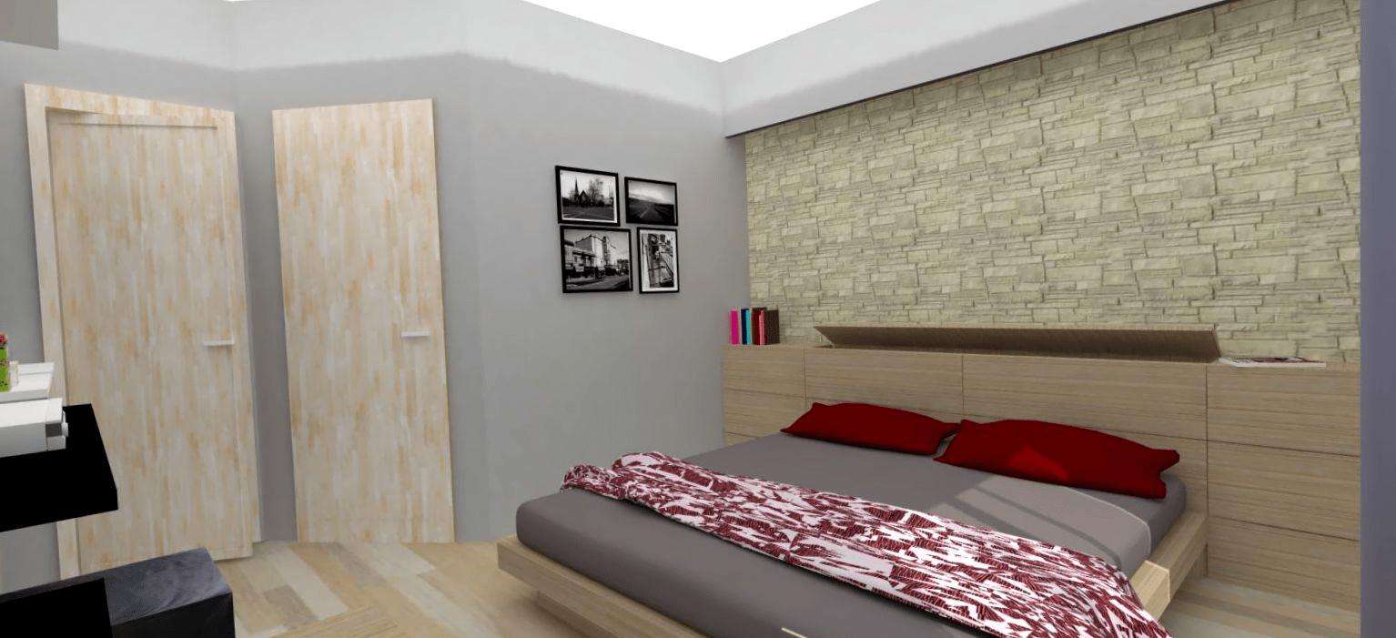 Cabina armadio la voglio il pi grande possibile cose di casa - Rivestimento parete camera da letto ...