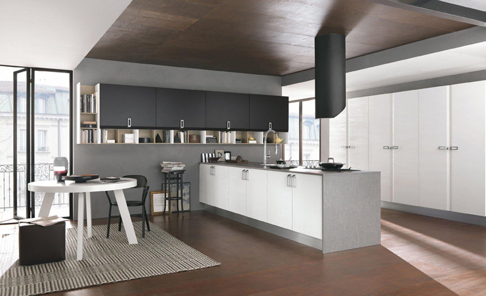 Cucine con penisola cose di casa - Sgabelli per cucina moderna ...