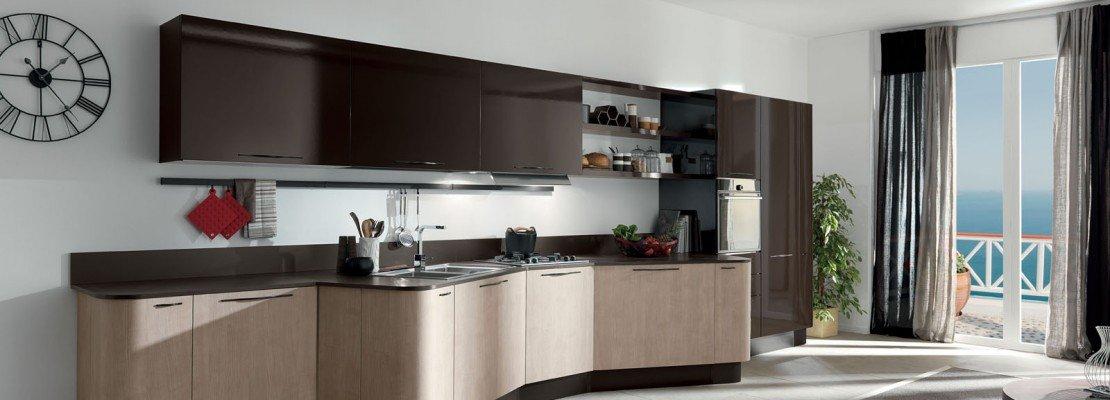 Aran cucine 5 cucine per sfruttare lo spazio in modi for Cucine italiane design moderne