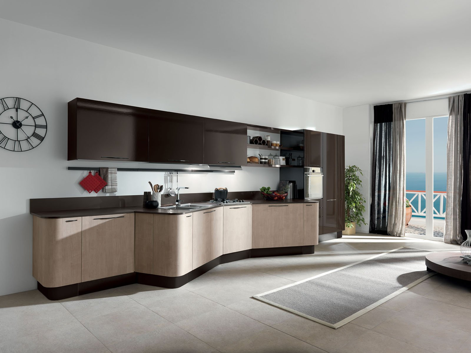aran 5 cucine per sfruttare lo spazio in modi differenti cose di casa. Black Bedroom Furniture Sets. Home Design Ideas