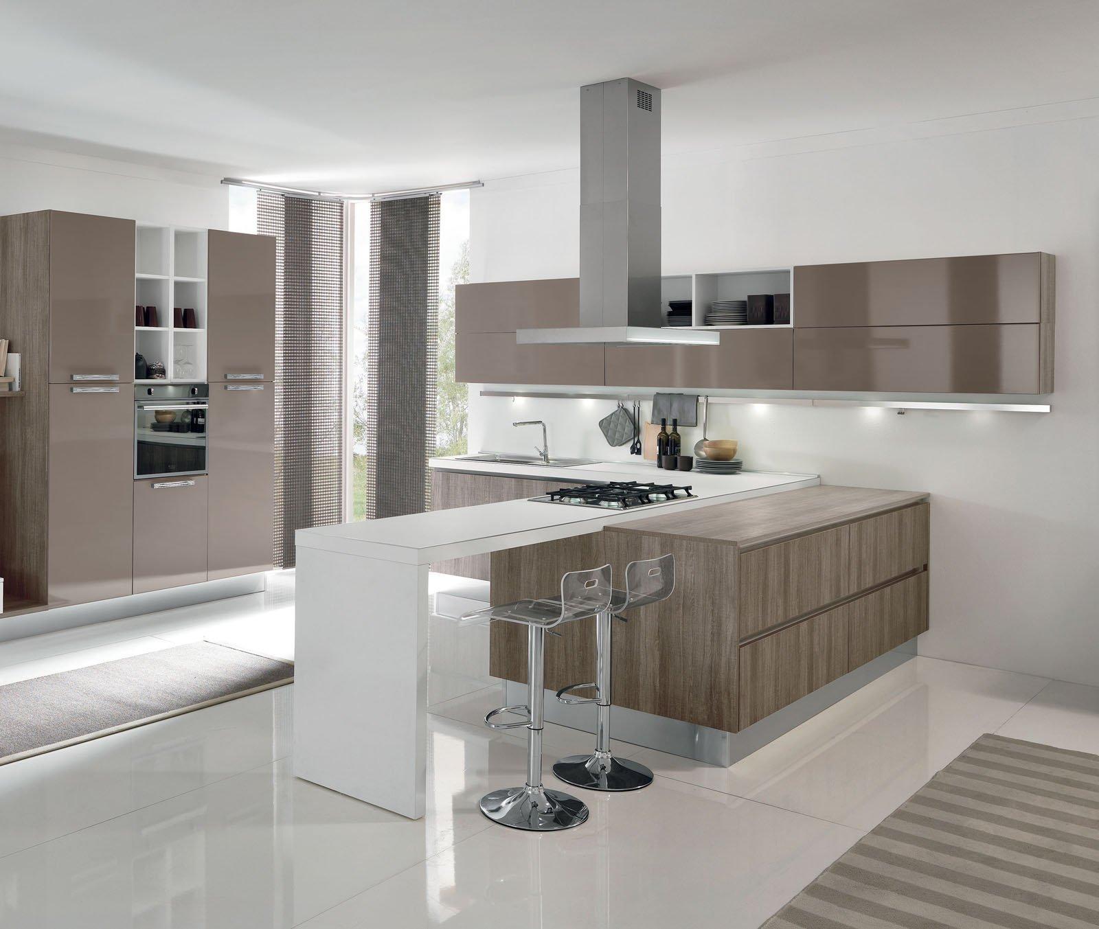 Aran 5 cucine per sfruttare lo spazio in modi differenti cose di casa for Quanto costa una cucina scavolini