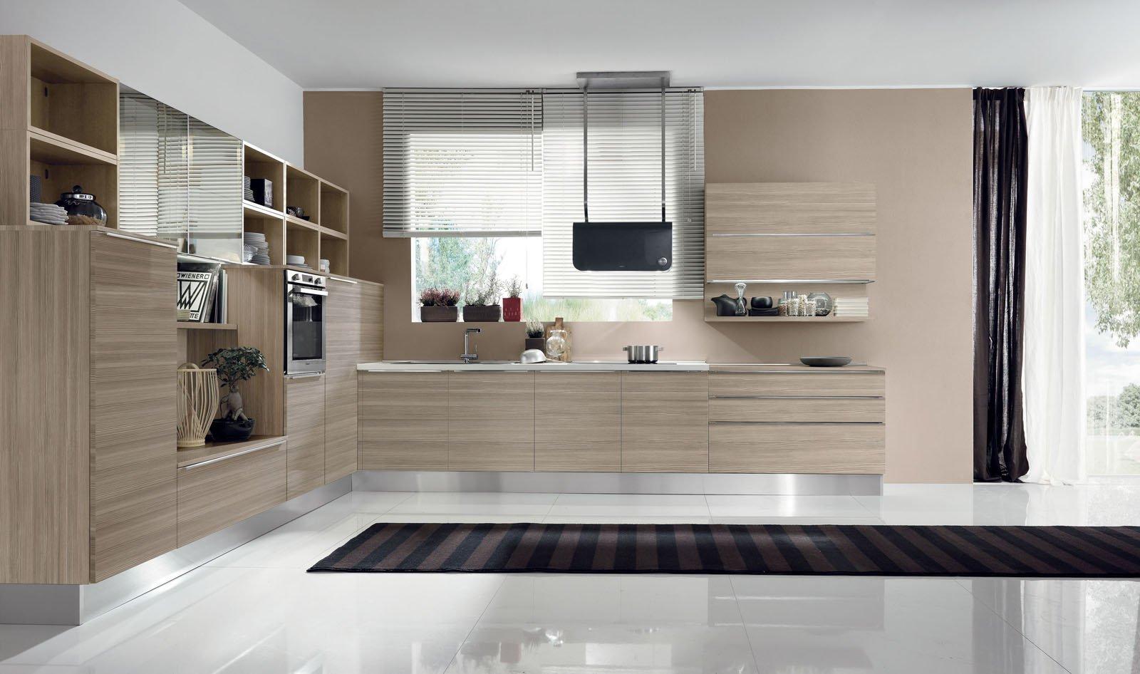 aran 5 cucine per sfruttare lo spazio in modi differenti. Black Bedroom Furniture Sets. Home Design Ideas