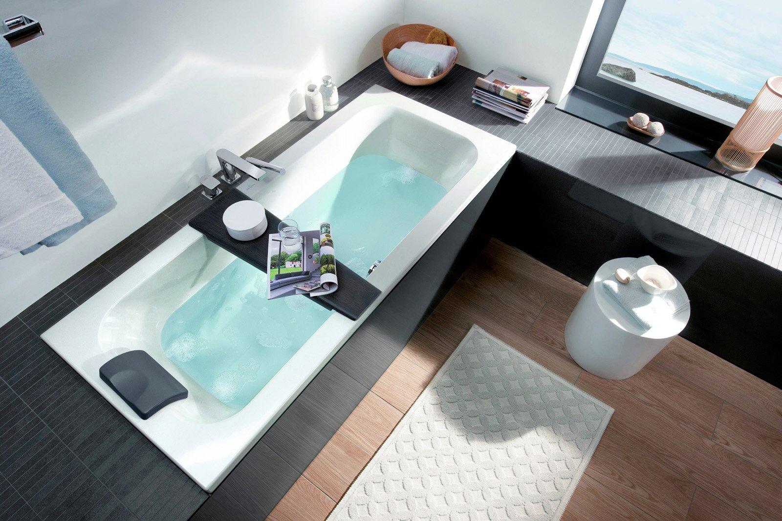 Bagno stretto lungo loop friend villeroy boch cose di casa - Progetto bagno lungo e stretto ...