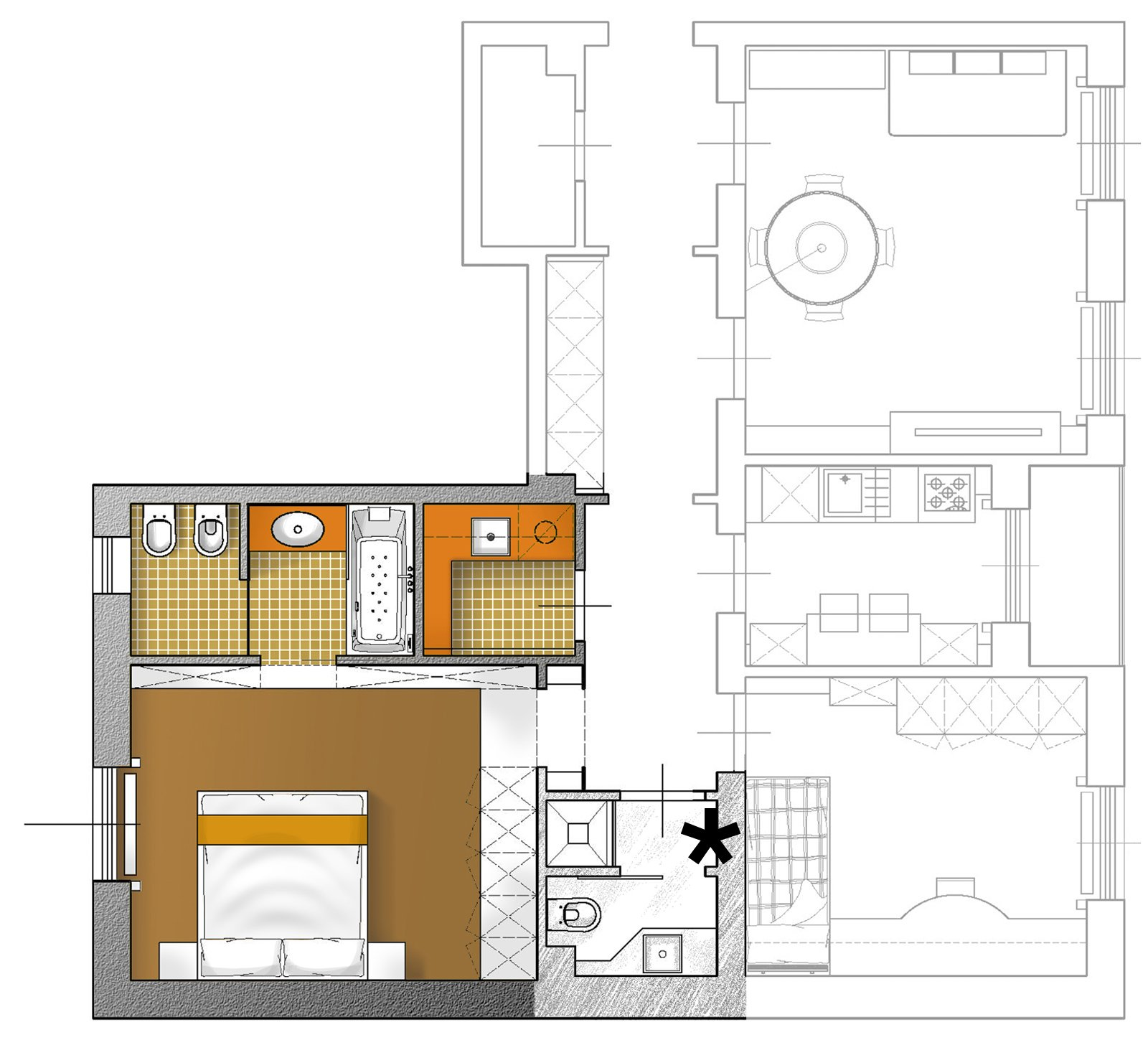 Arredare un soggiorno stretto idee per il design della casa for Design della casa libera