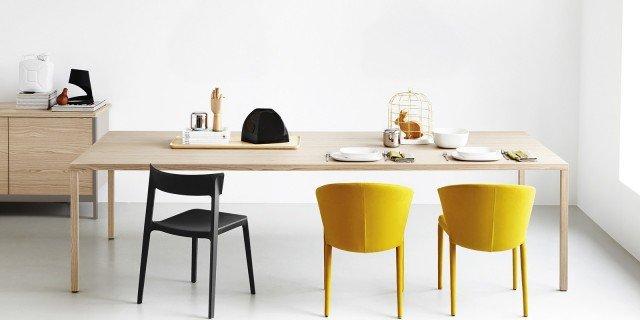 Tavoli e sedie per cucina o soggiorno cose di casa for Tavoli e sedie da cucina calligaris