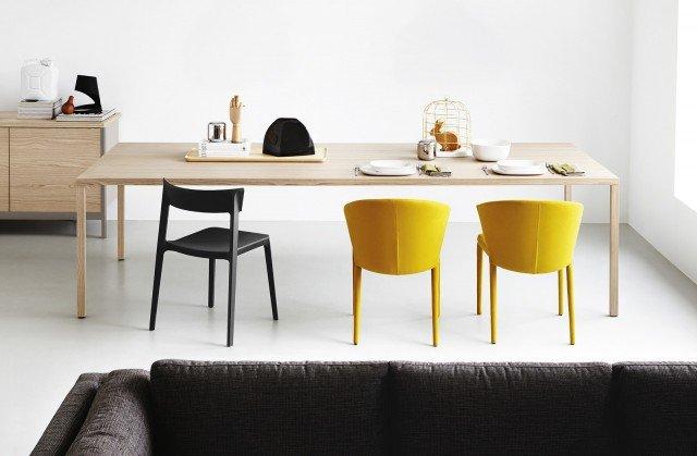 Tavoli e sedie per cucina o soggiorno cose di casa for Sedia skin calligaris prezzo