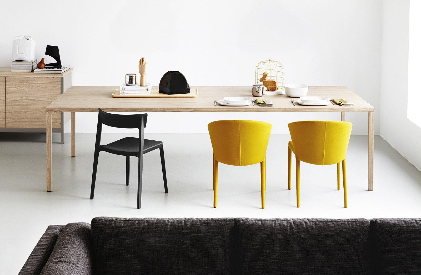 Tavoli e sedie per cucina o soggiorno cose di casa for Sedie da tavolo moderne