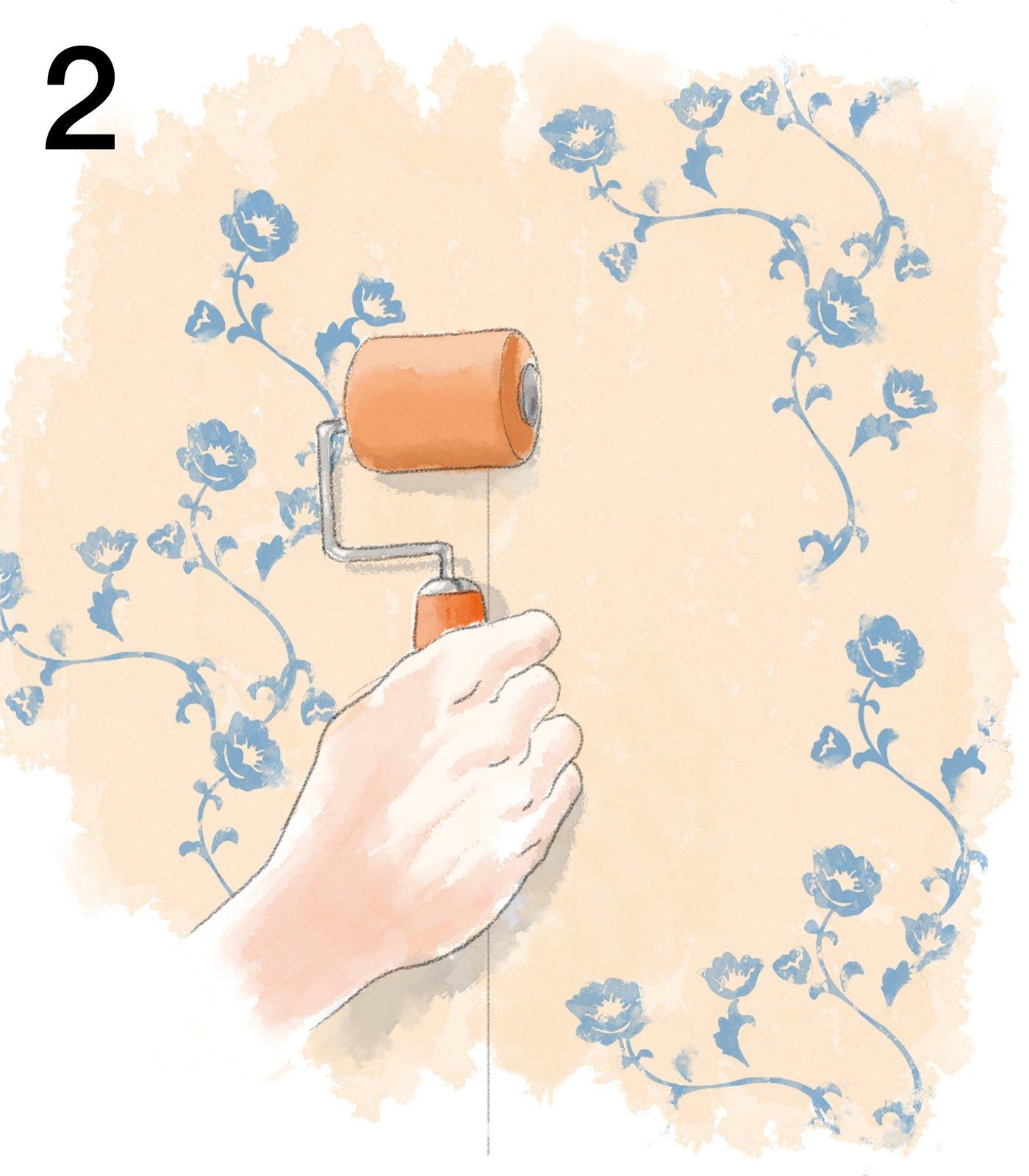 Togliere Carta Da Parati E Tinteggiare.Carta Da Parati Come Si Posa Cose Di Casa
