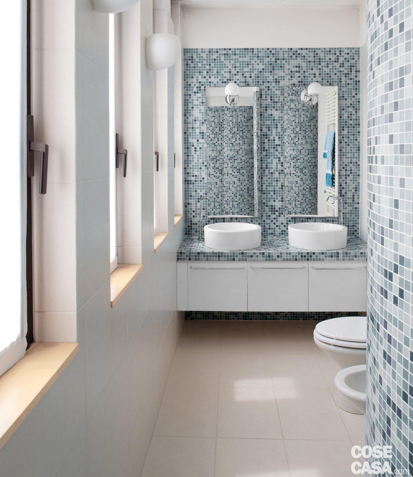 Piastrelle doccia mosaico sicis la tradizione e nel for Mosaico bisazza prezzi