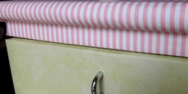 Rivestire mobili con carta da parati cose di casa - Carta per foderare mobili ...