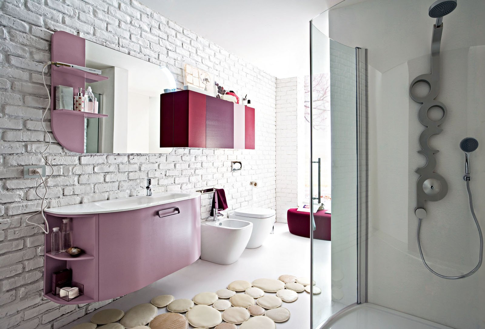 100+ [ mobili bagno stretti ] | idee di arredo originali e di ... - Immagini Di Bagni Moderni Piccoli