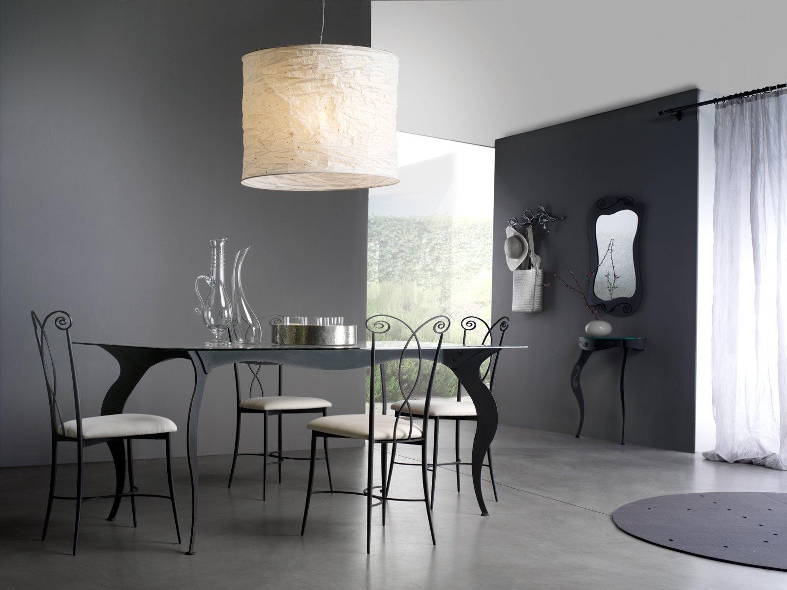 Si Ispira Ai Modelli Barocchi Mirò Di Cosatto Realizzato In Lamiera  #876B44 1600 1200 Tavoli E Sedie Per Sala Da Pranzo