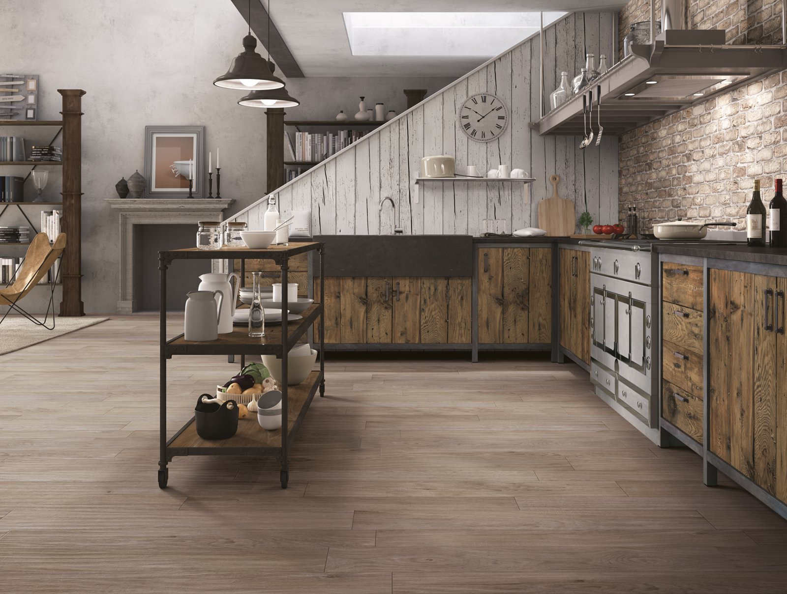 Piastrelle per il pavimento della cucina cose di casa - Levigare il parquet senza togliere i mobili ...