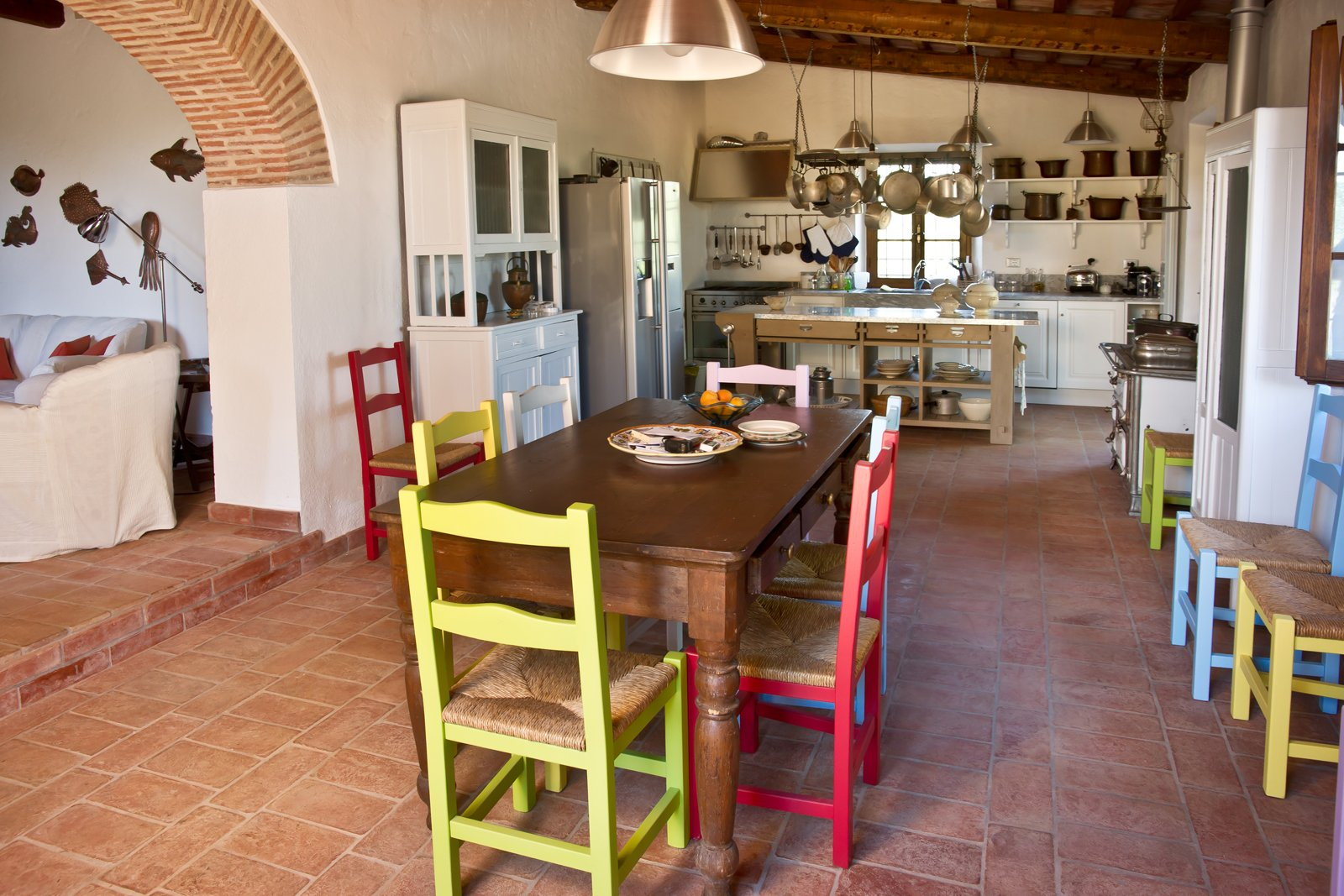 Cotto A Legna Il Pavimento Cotto Di Cristiani Adatto A Una Cucina  #988333 1600 1067 Come Arredare Cucina Soggiorno Rustica