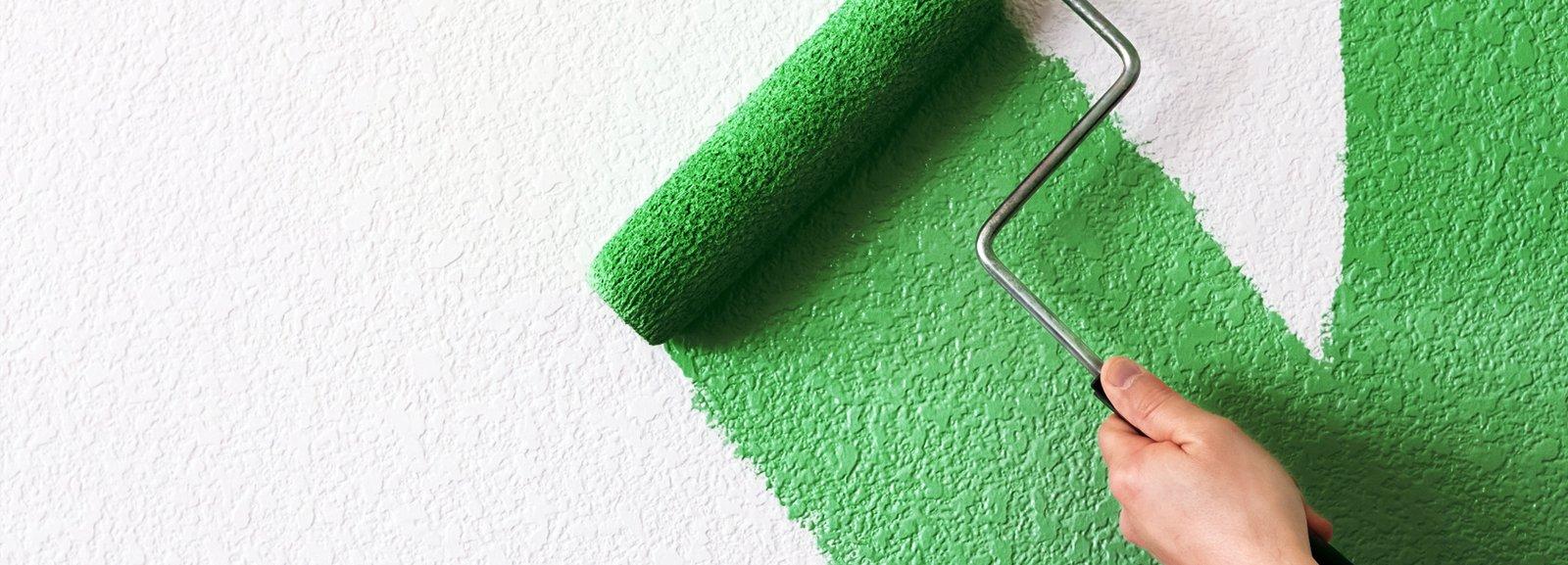 Parete verde in soggiorno blu in camera cose di casa - Parete verde camera da letto ...