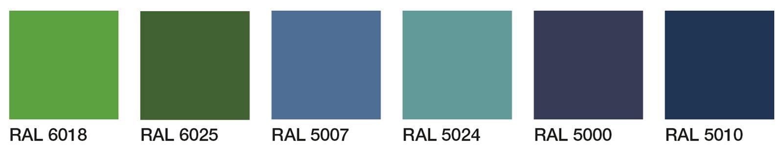 A ispirazioni Muro lampadari : Parete verde in soggiorno, blu in camera Cose di Casa