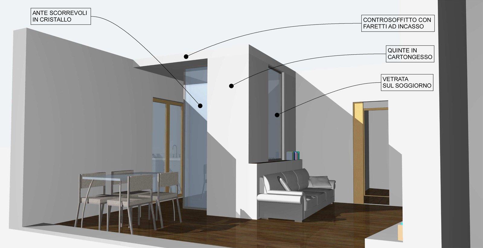 Come dividere il soggiorno dall angolo cottura cose di casa