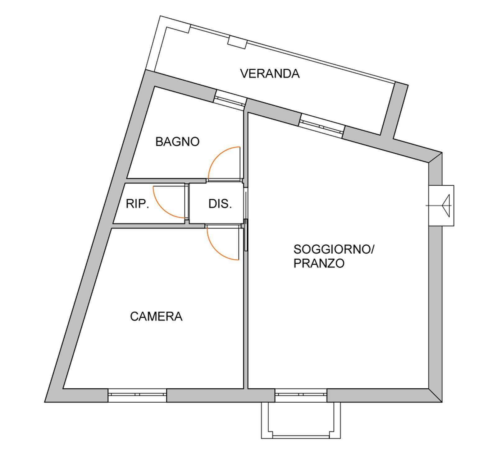 Come dividere il soggiorno dall\'angolo cottura? - Cose di Casa
