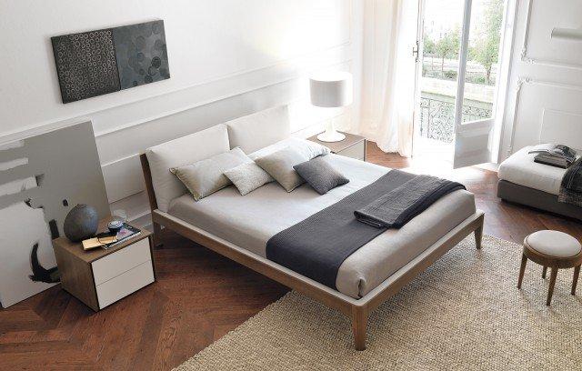 Letto con finitura legno o laccato cose di casa - Spalliere letto in legno ...