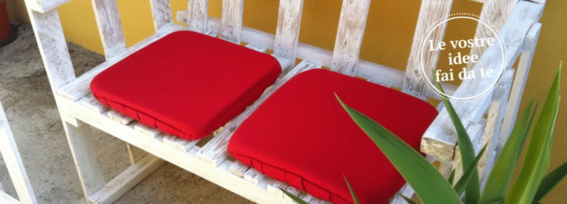 Il divanetto per esterni in stile shabby cose di casa - Panchine da giardino fai da te ...