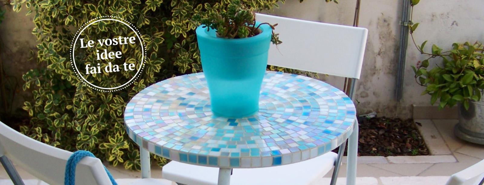 Tavolino a mosaico per l 39 estate cose di casa for Cose per giardino