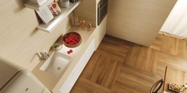 Piastrelle per il pavimento della cucina cose di casa - Piastrelle pavimento cucina ...