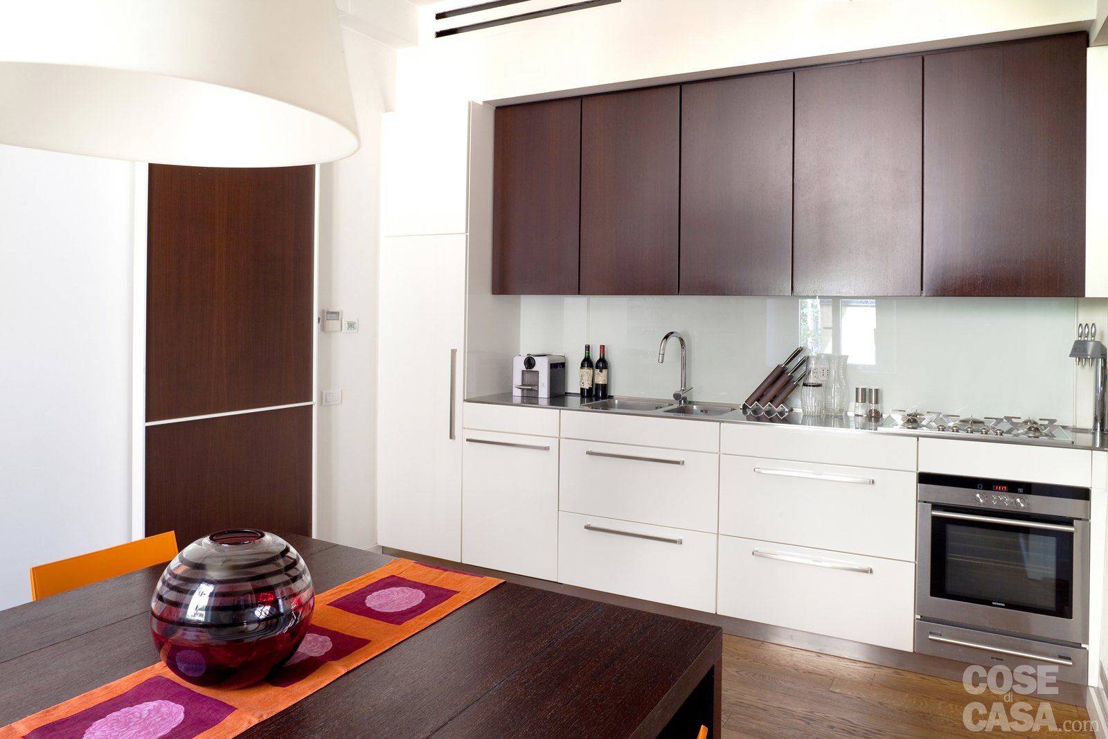 Casabook Immobiliare: 70 Mq: Casa Con Veranda #AE541D 1600 1067 Pensili Cucina IKEA