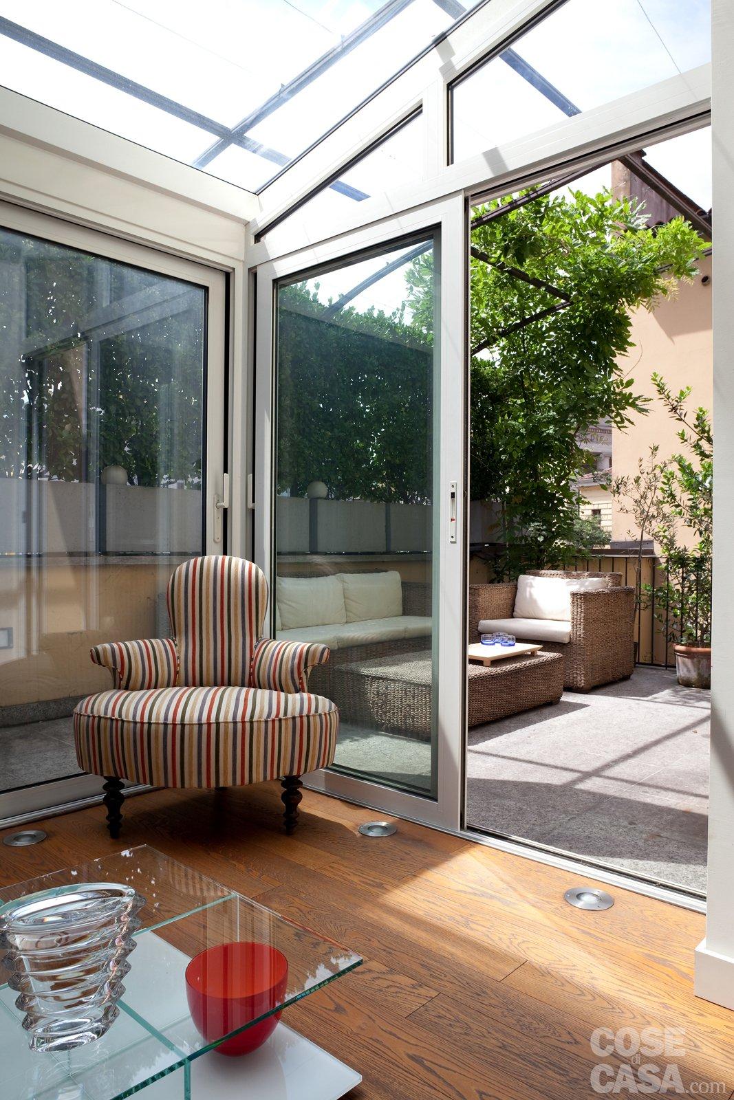 Veranda Che Serramento Scegliere Cose Di Casa #9A6931 1067 1600 Foto Di Cucine In Pietra