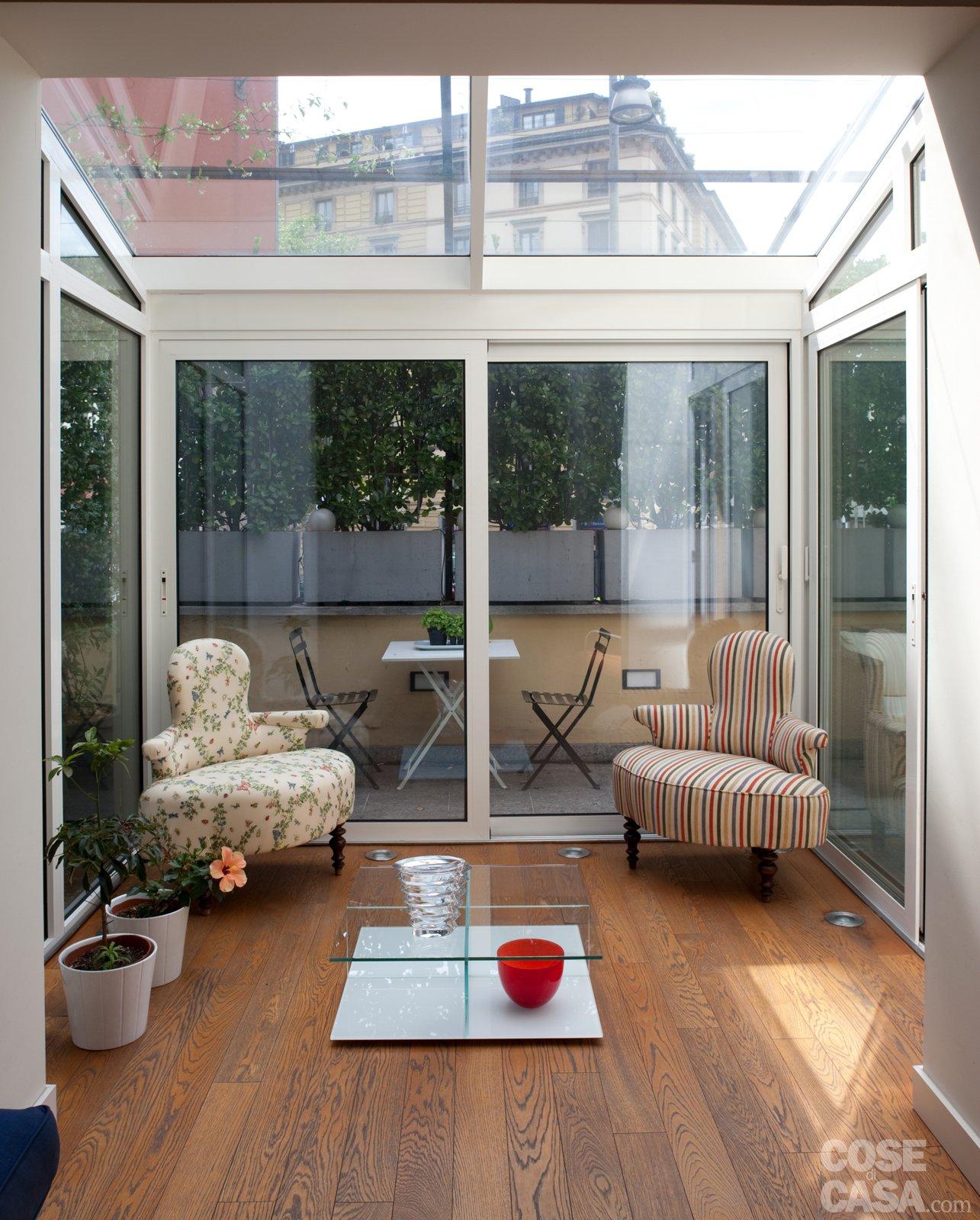 70 mq casa con veranda cose di casa - Terrazzi di design ...