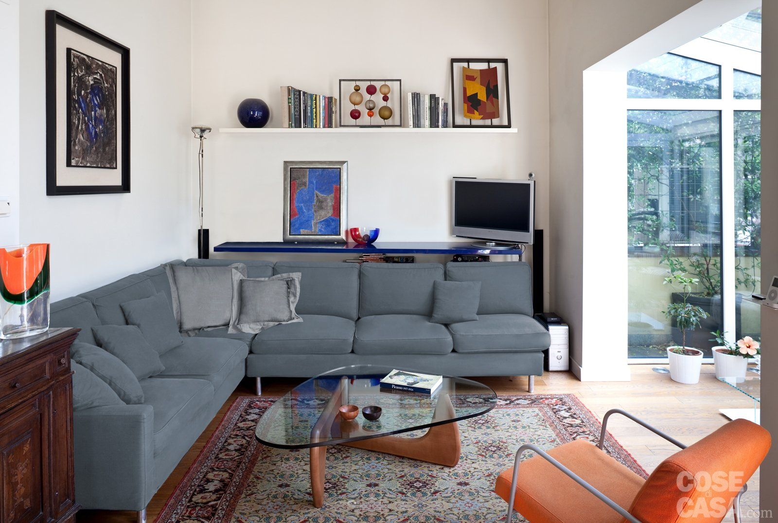 Casabook immobiliare 70 mq casa con veranda for Soggiorno ad angolo
