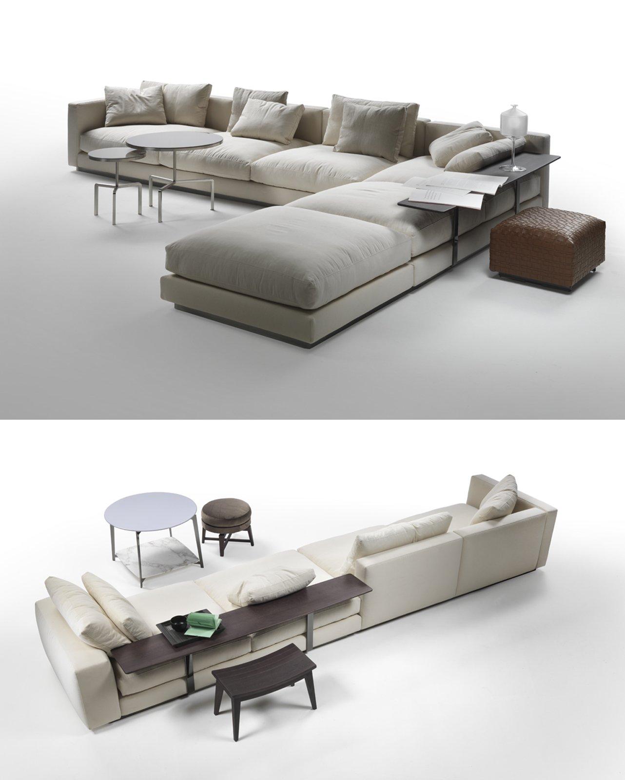 Divani con piani d 39 appoggio integrati cose di casa - Divano le confort ...
