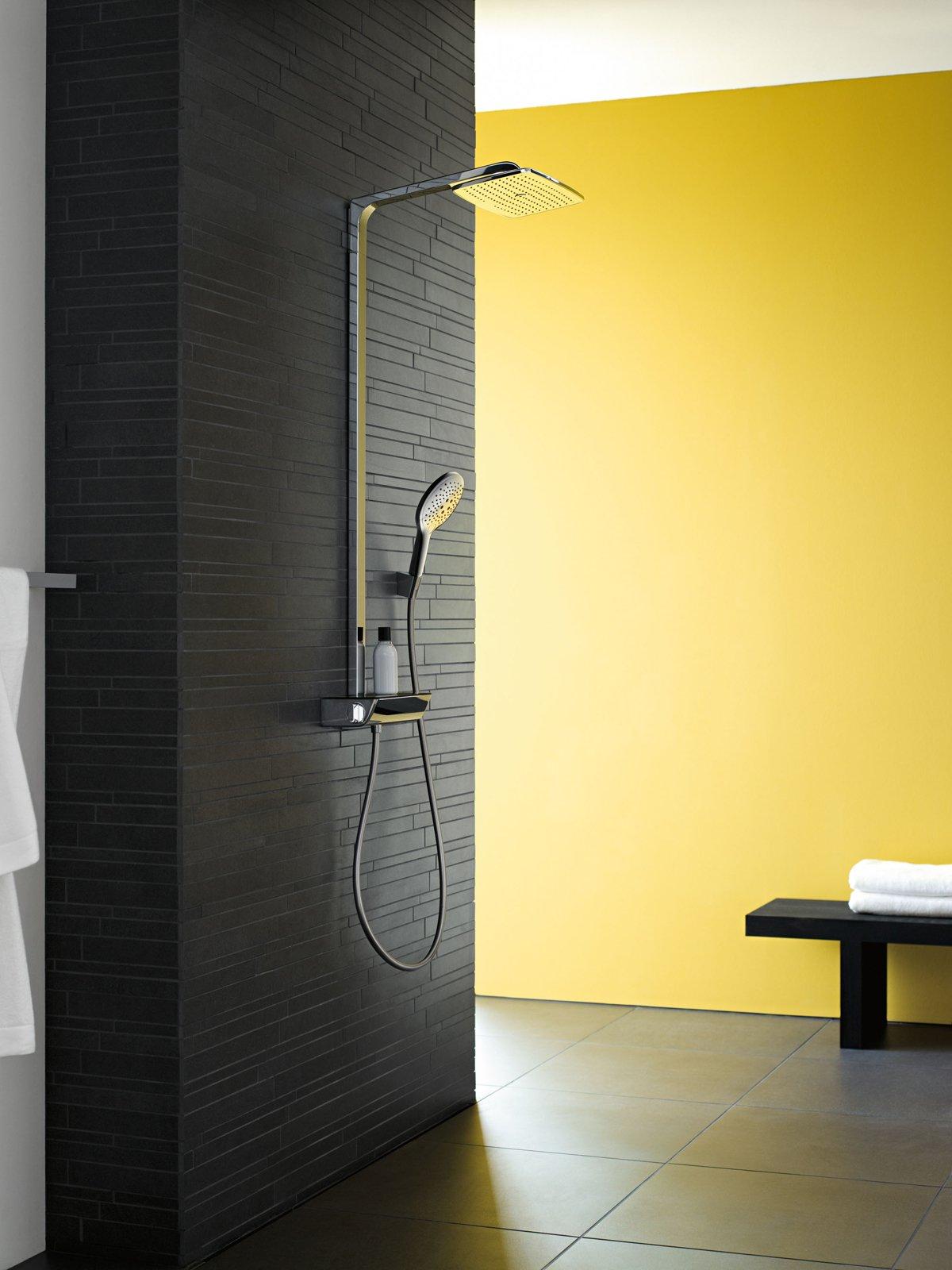 Doccia soffioni per il benessere anche con musica e - Soffione della doccia ...