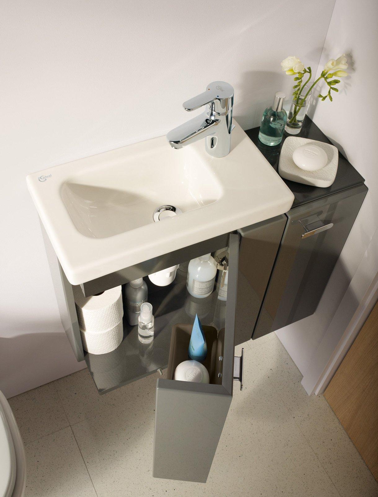 Casabook immobiliare bagno piccolo arredo componibile e - Mobile sottolavabo bagno ...