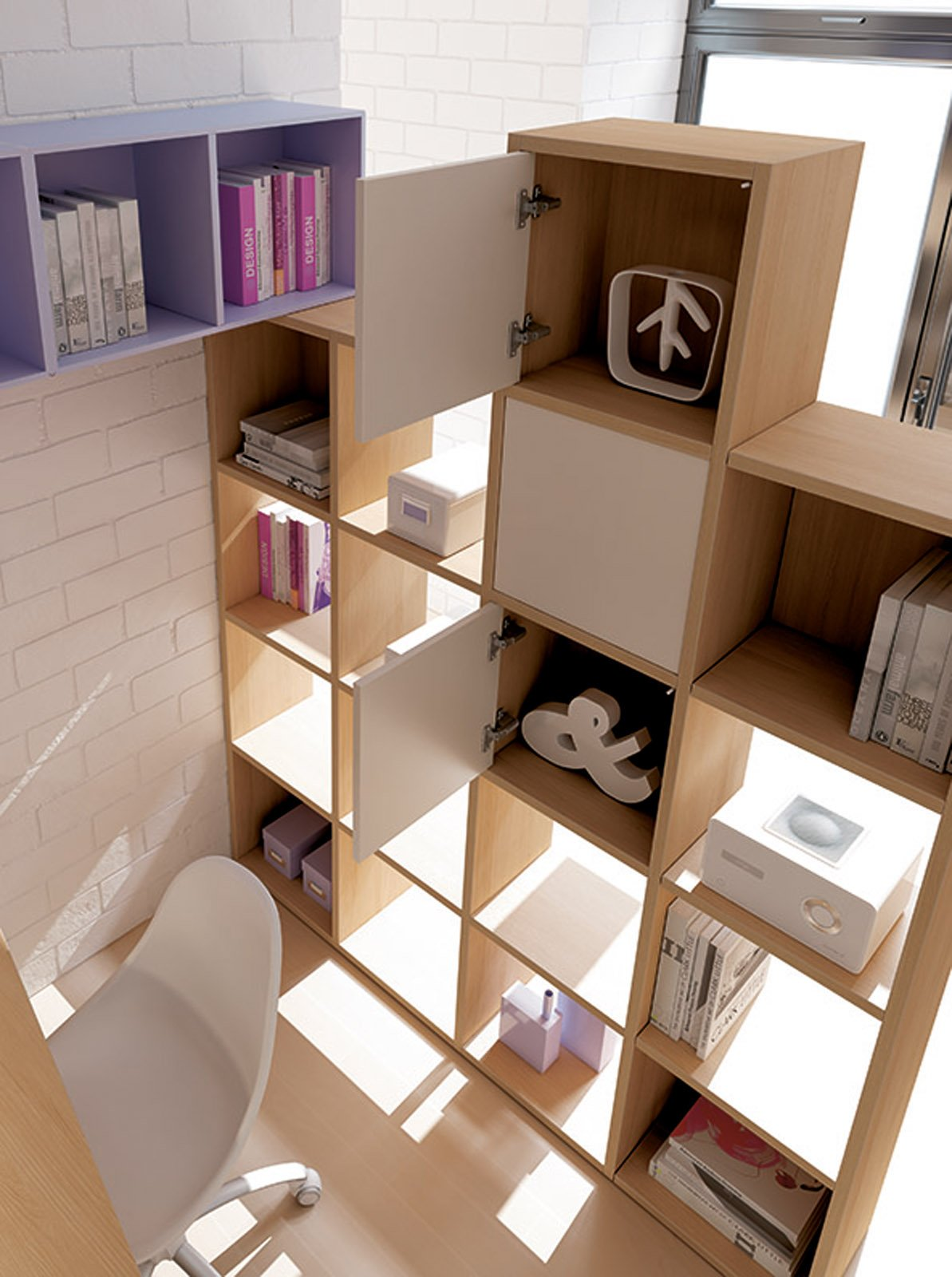 La libreria per dividere due stanze cose di casa for Idee per dividere casa