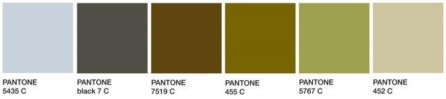 Così come la moda anche l'arredo ha la palette d'autunno del Pantone Color Institute® che suggerisce questi abbinamenti: il grigio mercurio, il verde autunnale legato a tutti i toni del sottobosco, senza dimenticare i toni neutri del sabbia.