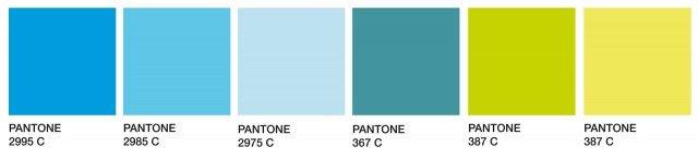Ecco la palette con le tinte proposte da Pantone. Si va dal grigio chiaro, al lilla freddo, passando per una serie di tinte violacee al più scuro marrone. Ottima scelta per una casa moderna e per chi non ama i colori troppo forti e decisi.
