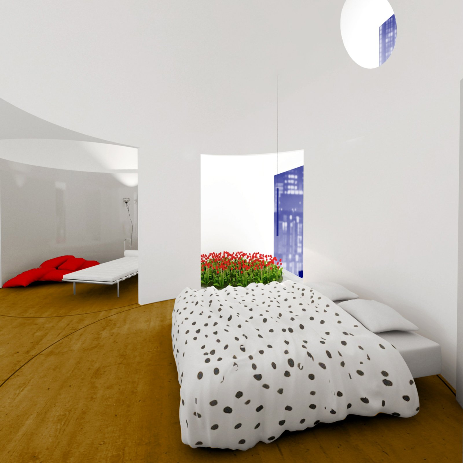 Pareti mobili per definire gli ambienti cose di casa for Mobili stanza letto