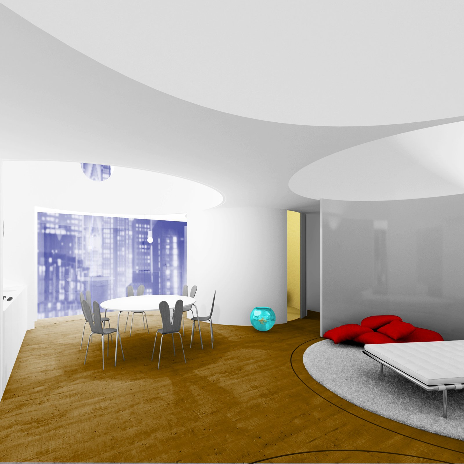 Pareti mobili per definire gli ambienti cose di casa - Pareti divisorie per casa ...