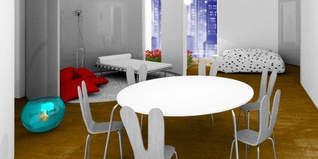 Pareti mobili per definire gli ambienti