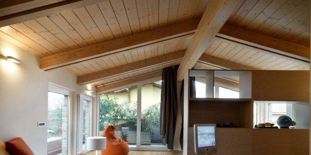Sottotetto progetti casa e abitazione cose di casa for Moderni piani casa stretta