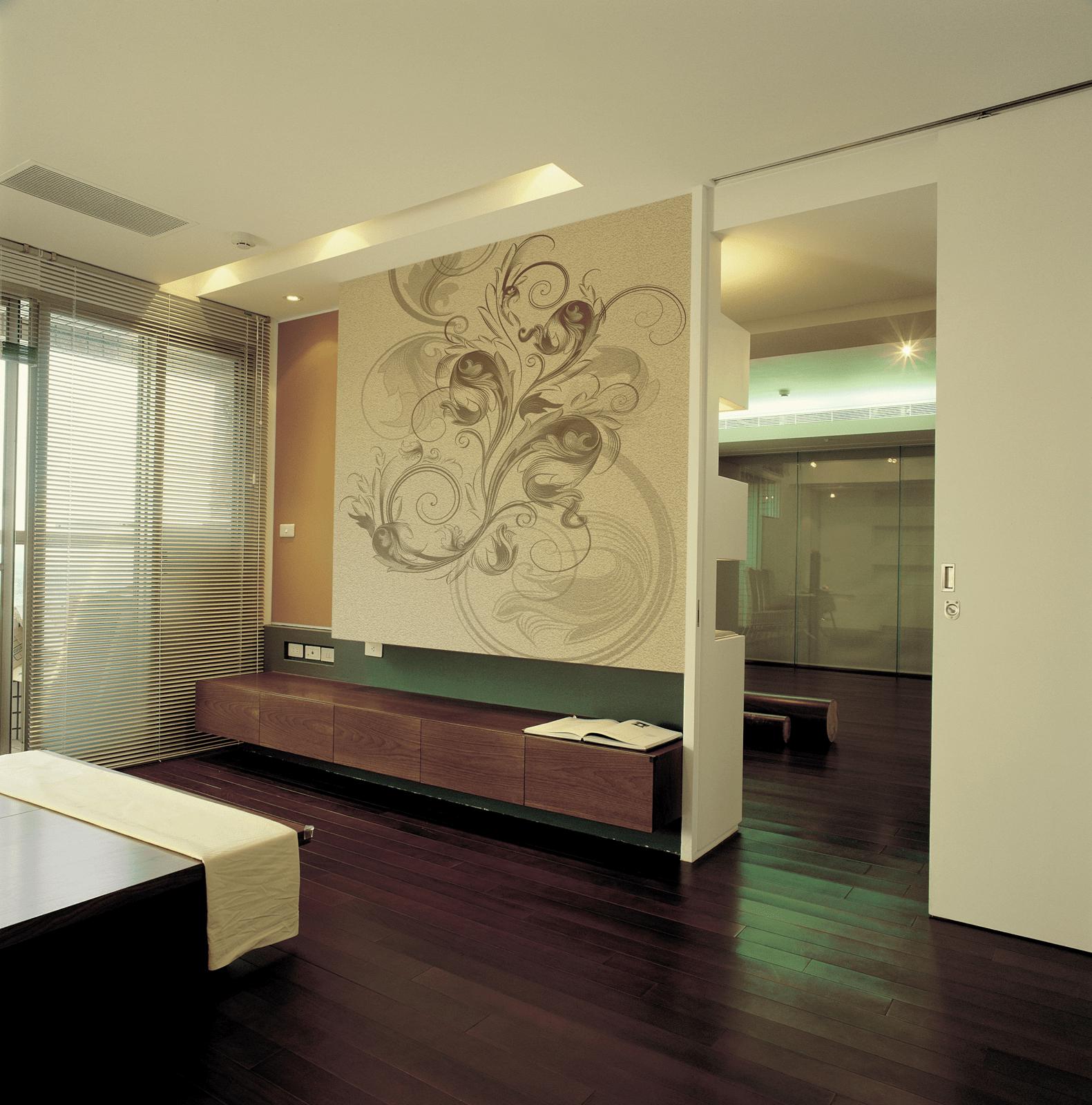 Carta da parati restyling per una parete di casa cose for Carta da parati per soggiorno moderno