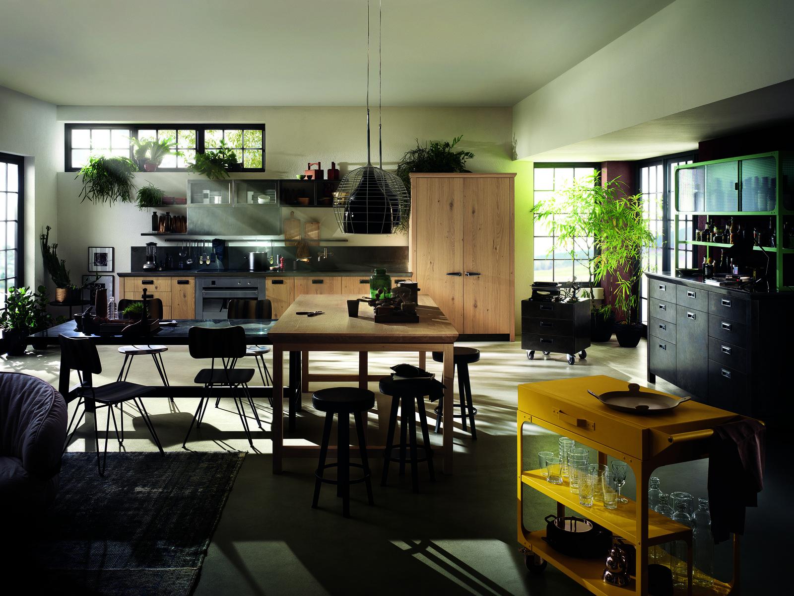 Cucina Scavolini con Diesel soluzioni di design per un