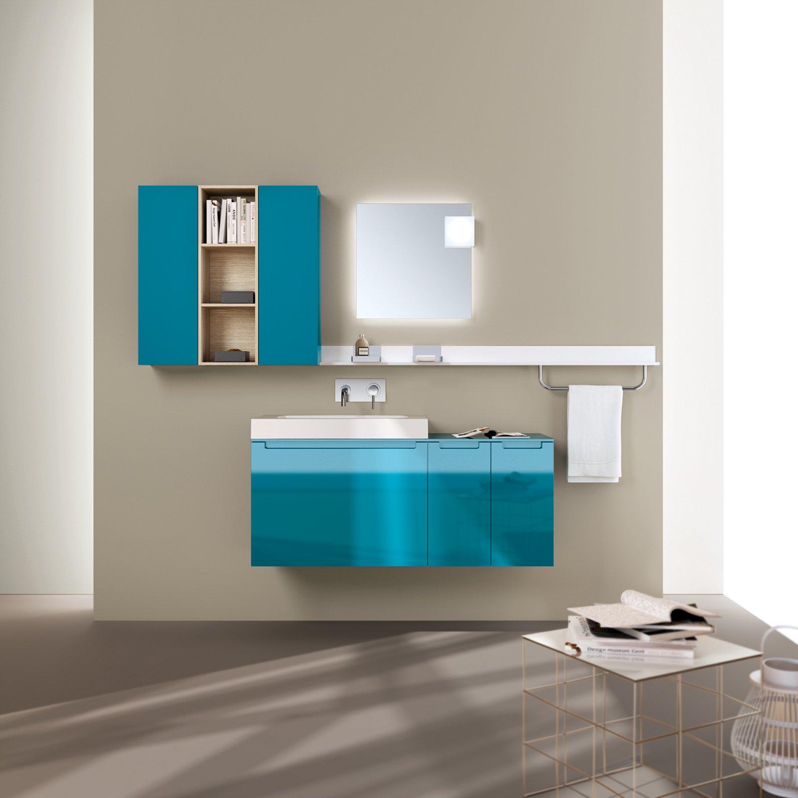 Bagno piccolo arredo componibile e salvaspazio cose di casa for Mobile lavabo bagno piccolo