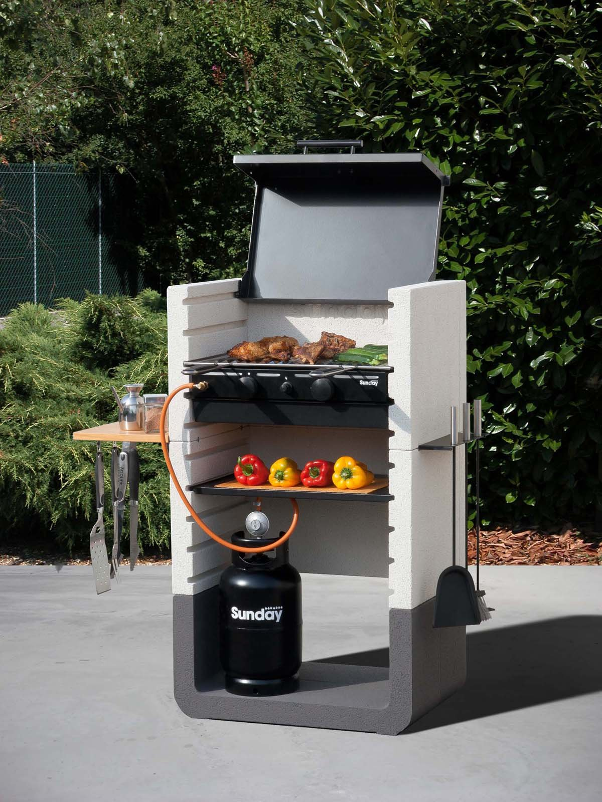 Barbecue con tante forme e accessori cose di casa - Barbecue in casa ...