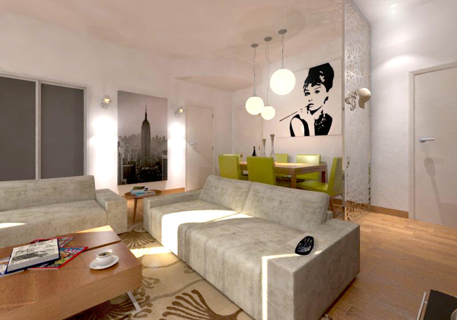 illuminazione moderna luce led : ... Con Faretti : Illuminazione parete soggiorno luce led palermo progetti